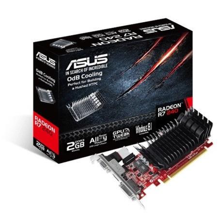 Asus AMD Radeon R7 240 2GB Graphics Card - Laptops Direct