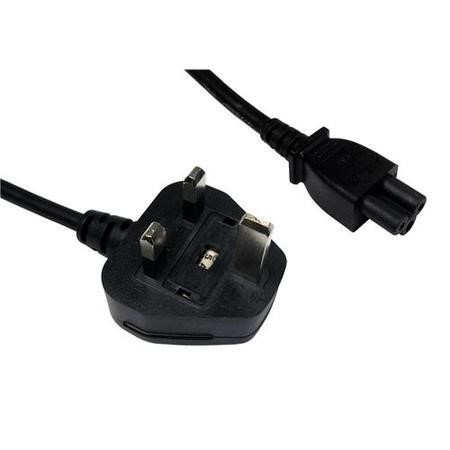 Cables Direct 1.8m UK Plug - C5 Mains Lead