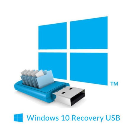 BID Recovery USB Stick for Windows 10 Laptops or Desktops - Can delay your order by 24 hours