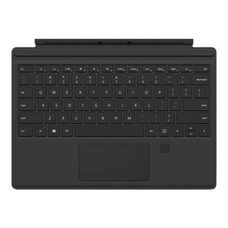 Microsoft Surface Pro 4 Type Cover with Fingerprint ID - Onyx