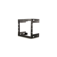 "8U Open Frame Wall Mount Rack - 12"" Deep"