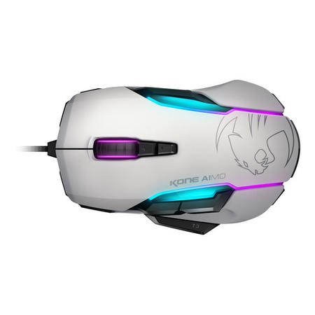 ROCCAT Kone AIMO RGBA Smart Customisation Gaming Mouse White