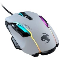 Roccat Kone AIMO Remastered Gaming Mouse in White