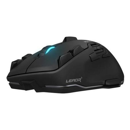 Roccat Leadr Wireless Multi-Button RGB Gaming Mouse in Black