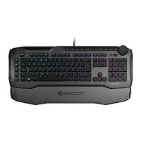 Roccat Horde AIMO Membranical RGB LED Gaming Keyboard in Grey