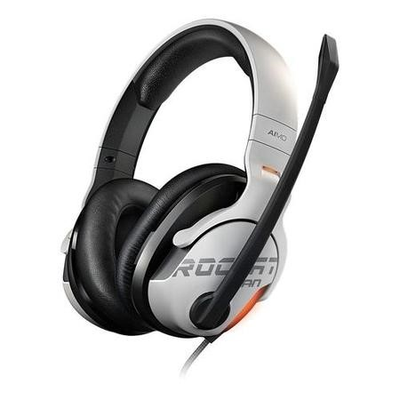 Roccat KHAN AIMO 7.1 High Res RGB Gaming Headset in White