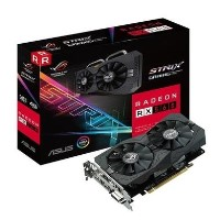 ASUS ROG STRIX Radeon RX 560 4GB GDDR5 OC Graphics Card