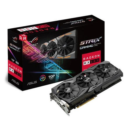 Asus ROG Strix Radeon RX 580 TOP 8GB GDDR5 Graphics Card