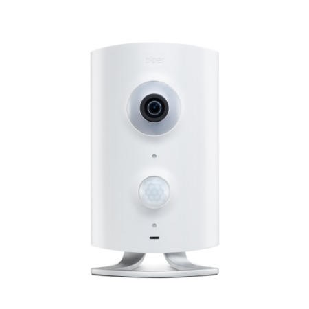 RP10NAW Piper HD 180º Fisheye Security Camera with Z-Wave in White