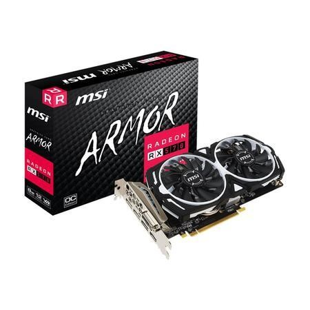 MSI AMD Radeon RX 570 8GB GDDR5 Graphics Card