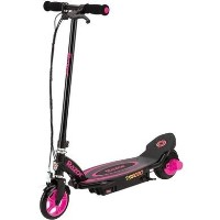 GRADE A1 - Razor Power Core E90 12 Volt Kids Electric Scooter - Pink