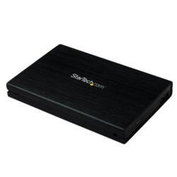 StarTech.com 2.5in Aluminum USB 3.0 External SATA III SSD Hard Drive Enclosure with UASP for SATA 6