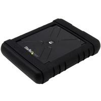 Startech Rugged Hard Drive Enclosure - USB 3.0 to 2.5in SATA 6Gbps HDD or SSD - UASP