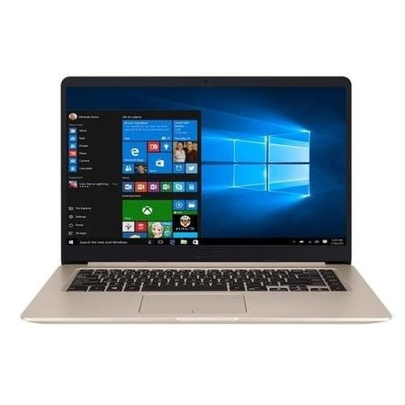 S510UQ-BQ178T Asus VivoBook S Core i5-7200U 8GB 256GB SSD GeForce GT 940MX 15.6 Inch Windows 10 Ultrabook Laptop - Gold