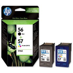HP 56/57 Combo Pack Print Cartridge1x Cyan/Magenta/Yellow