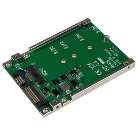 StarTech M.2 NGFF SSD to 2.5in SATA Adapter Converter