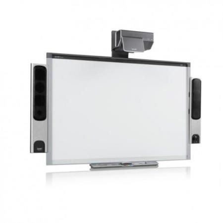 SMART Board 885 UX80 Projector and SBA-L Speakers  87 Inch with Notebook s/w