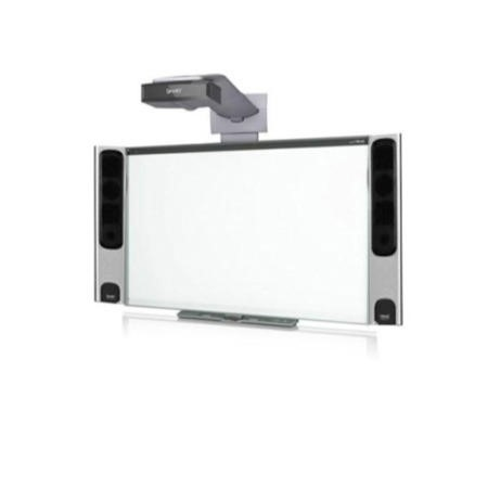 SMART Board M685 with UF70W Projector and SBA-L Speakers - 87 Inch