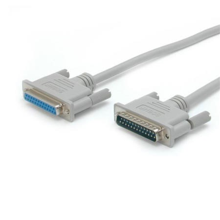 StarTech.com 10 ft Straight Through Serial Parallel Cable - DB25 M/F