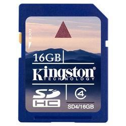 Kingston 16GB High Capcity SD Memory Card
