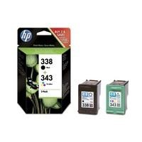 HP 338/343 - Print Cartridge Multipack 1x Cyan/Magenta/Yellow