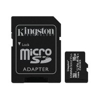 Kingston Canvas Select 16GB UHS Micro SD Memory Card + SD Adapter