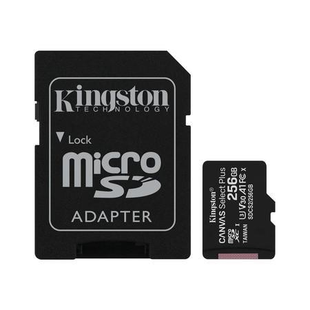 Kingston Canvas Select Plus 256GB UHS-1
