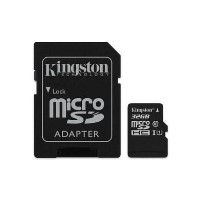 Kingston Canvas Select 32GB Class 10 MicroSDHC Card with Adapter
