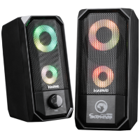 Marvo Scorpion SG-265 6W 2.0 Channel RGB LED USB Powered Gaming Speakers