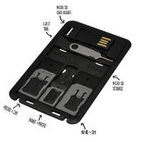 iQ Multi Sim Card Holder & Smartphone Multi Tool - Nano Micro and Standard