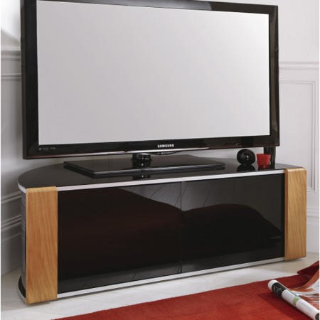 MDA Designs Sirius 1200 TV Cabinet in Oak up to 55 inch