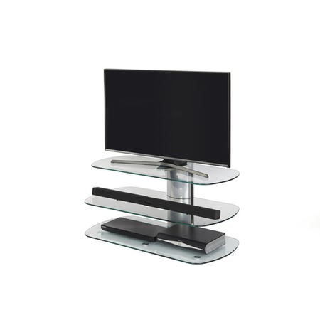 Off The Wall SKY 1000 SIL Skyline Silver TV Stand - Up To 55 inch