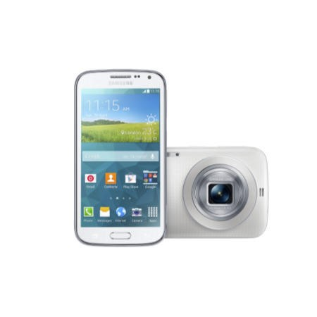 Samsung Galaxy K Zoom White Sim Free Mobile Phone