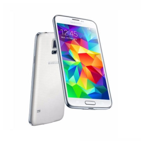 "A1/SM-G900FZWABTU Refurbished Samsung Galaxy S5 White 5.1"" 16GB 4G Unlocked & SIM Free"