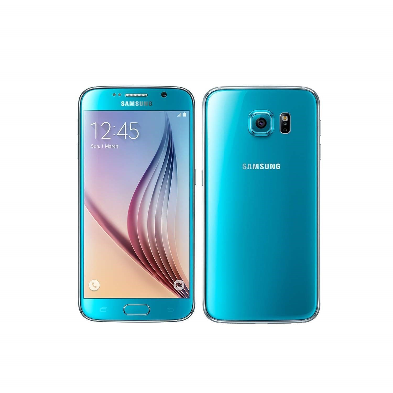 Grade C Samsung Galaxy S6 Topaz Blue 5 1