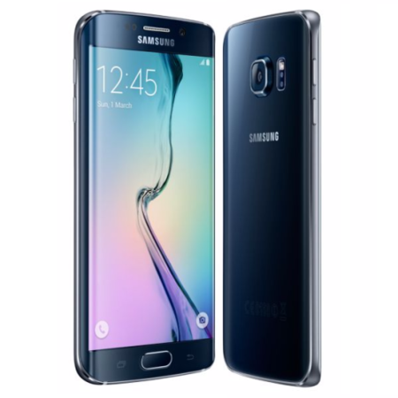"Samsung Galaxy S6 Edge Black Sapphire 5.1"" 64GB 4G Unlocked & SIM Free"