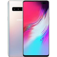 "Samsung Galaxy S10 5G Crown Silver 6.7"" 256GB 5G Unlocked & SIM Free"