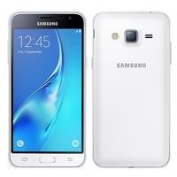 "Samsung Galaxy J3 White 2015 5"" 8GB 4G Unlocked & SIM Free"