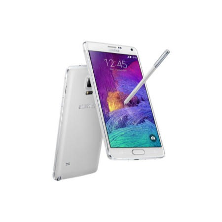 "A1/SM-N910FZWEBTU Refurbished Samsung Galaxy Note 4 White 5.7"" 32GB 4G Unlocked & SIM Free"