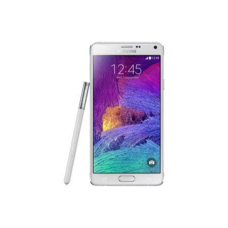 "Grade C Samsung Galaxy Note 4 White 5.7"" 32GB 4G Unlocked & SIM Free"