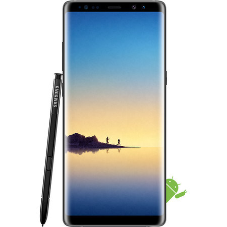 "SM-N950FZKABTU Samsung Galaxy Note 8 Black 6.3"" 64GB 4G Unlocked & SIM Free"