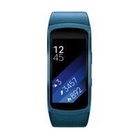 Samsung Gear Fit2 Sports GPS Activity Tracker With Heart Rate - Blue Large