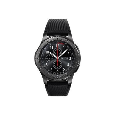 77521850/1/SM-R760NDAAXSG GRADE A1 - Samsung Gear S3 Frontier Smart Watch - Black/Grey