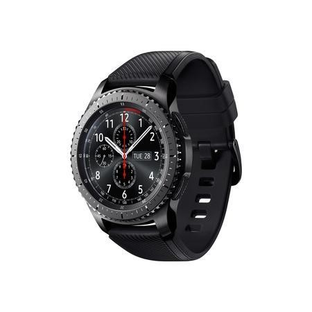 GRADE A1 - Samsung Gear S3 Frontier Smart Watch - Black/Grey