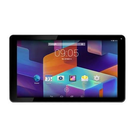 Hannspree HannsPad T75 10.1 inch Tablet PC ARM Cortex A7 Quad Core 1.3GHz 1GB 8GB WLAN BT Webcam Android 4.4 KitKat