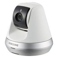 Samsung Smart Home Camera Full HD Compact Indoor Security Auto Tracking Pan/tilt Camera CCTV Baby Monitor with Two-Way Audio & Motion Detect - White