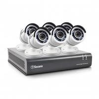 Swann DVR8-4550 8 Channel HD 1080p Digital Video Recorder with 6 x PRO-T853 1080p Cameras & 2TB Hard Drive
