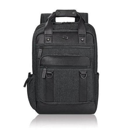 "Solo Executive 15.6"" Bradford Backpack - Black/Grey"