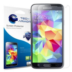 HD Clear screen protector for Samsung Galaxy S5 Phone - 3 pack