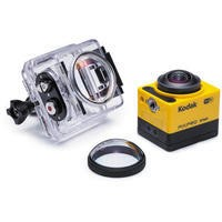 Kodak PixPro SP360 360 Degree 4K Action Cam NFC WiFi Extreme Pack